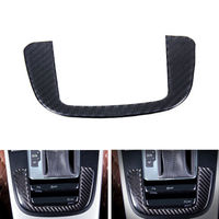 BBQ@FUKA 1Pc Gear Shift Box Panel Cover Trim Interior Carbon Fiber Car Styling Sticker Fit For Audi A4 A5 Q5