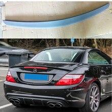 ПУ материал Неокрашенный задний спойлер багажника крыла багажника для Benz R172 SLK КЛАСС 2 двери 2012 2013 Тюнинг автомобиля запчасти
