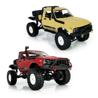 WPL C14 1 16 Scale 2 4G 4WD Off Road RC Semi Truck Car Toy Auto