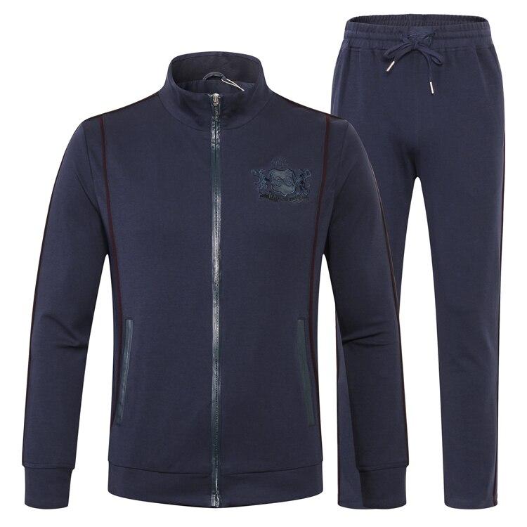 TACE & SHARK Milliardaire sportwear costume hommes 2018 automne lancement de mode confort broderie conçu haute qualité livraison gratuite