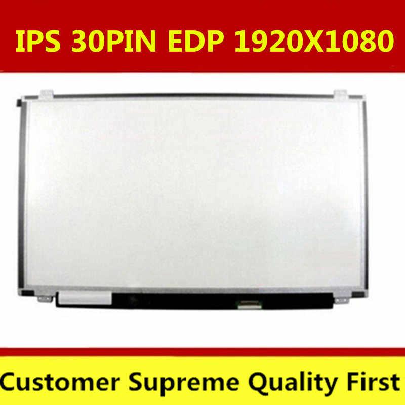15,6 pulgadas ips lcd matriz LP156WF6 SPL1 SPC1 SPK1 SPB1 SPM1 LP156WF4 B156HAN01.2 30PIN EDP 1920X1080 portátil lcd panel de pantalla