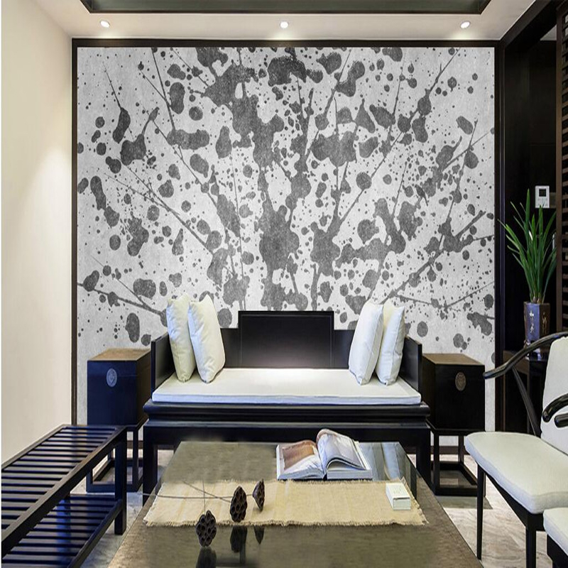 Custom Photo Wallpaper 3D Wall Mural Nature Wallpaper Landscape New Chinese Style Abstract Ink Painting Mural Decor Wallpaper 3D 30pcs in one postcard chinese ancient ink landscape painting christmas postcards greeting birthday message cards 10 2x14 2cm