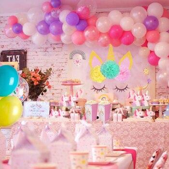 Unicorn Decoration Birthday Unicorn Horn Sets Party Supplies
