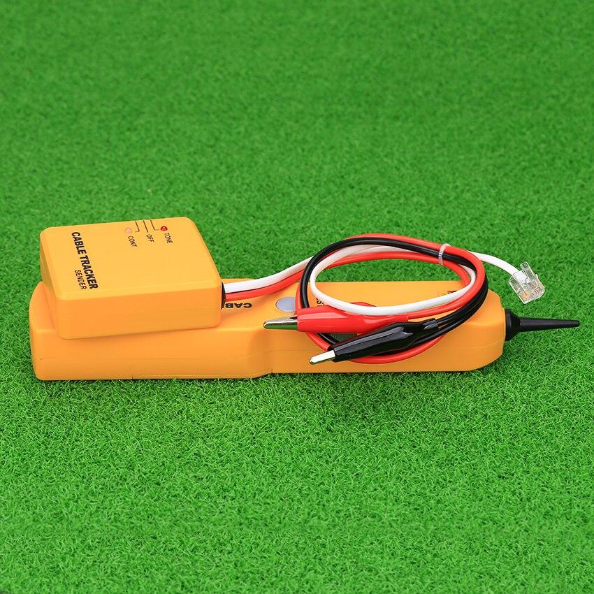 KELUSHI Tragbare RJ11 Netzwerk Telefon Kabel Tester Toner Draht Tracker Tracer Diagnose Finder Detektor Networking-Tools