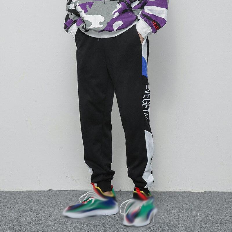 100% Wahr Männer Hosen Hip Hop Streetwear Jogger Hosen 2018 Pantalon Homme Justin Bieber Männlichen Hose Mens Joggers Nähte Jogginghose