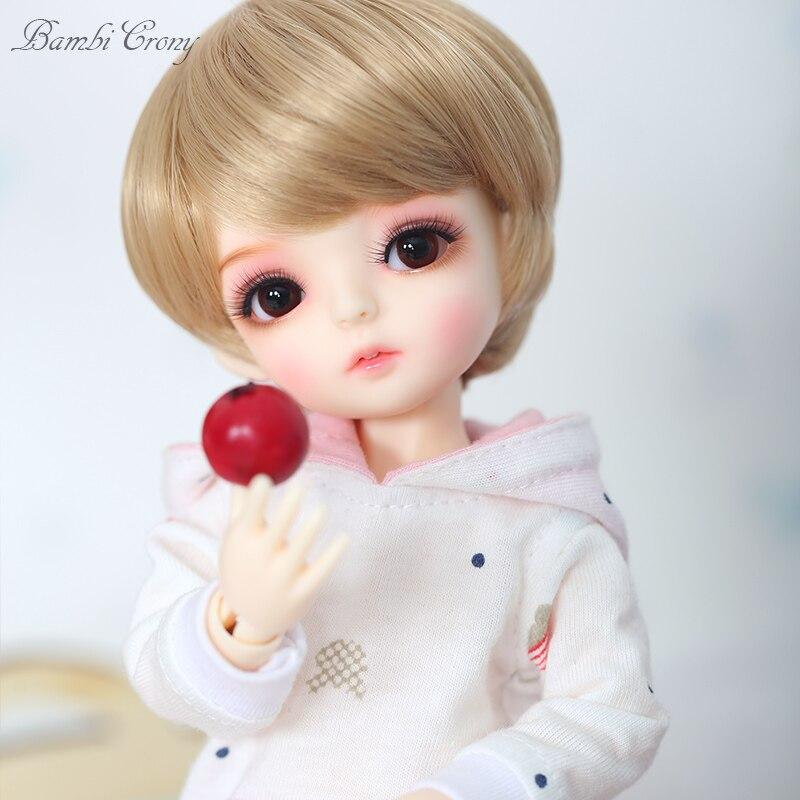 BambiCrony Vanilla Fullset Suit BJD SD Dolls 1 6 Body Model ShugoFairy Luts Girls Boys YoSD