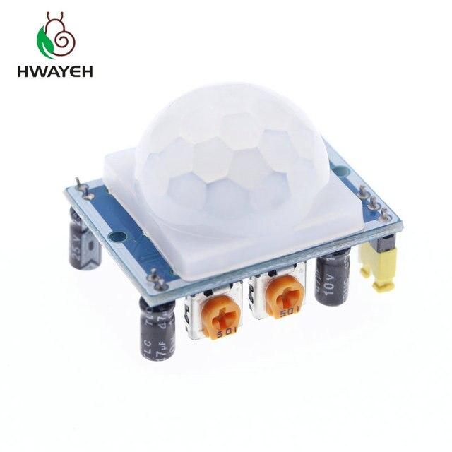 1 stücke SR501 HC-SR501 Einstellen IR Pyroelektrische Infrarot PIR module Motion Sensor Detektor Modul für arduinp