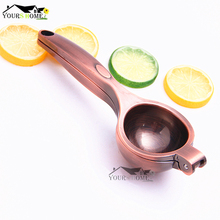 купить Copper Squeezer Cooking Tools Best Hand Press Manual Juicer Orange Lemon Lime Squeezer Tools Cookware fresh Juice Squeezer в интернет-магазине