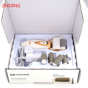 Foot Care Tool with 5 Roller Heads Skin Care Feet Dead Dry Skin Removal Electric File Heel Cuticles Callus Remover Foot Rasp