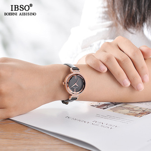 Image 4 - IBSO חדש יוקרה גבירותיי קוורץ שעון נשים Relogio Feminino שעות אופנה נשים יד שעונים נשי שעון Montre Femme 2020