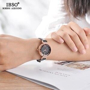 Image 4 - Ibso Nieuwe Luxe Dames Quartz Horloge Vrouwen Relogio Feminino Uur Mode Vrouwen Horloges Vrouwelijke Klok Montre Femme 2020