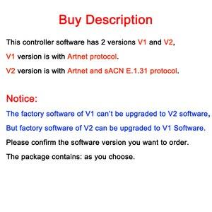 Image 3 - Neue Artnet Ethernet zu SPI/DMX pixel led licht controller BC 216 DC5V 24V 3Ax16CH Unterstützung Artnet/Artnet und sACN E. 1,31 protokoll