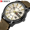 CURREN Men's Luxury Military Male Quartz Watches