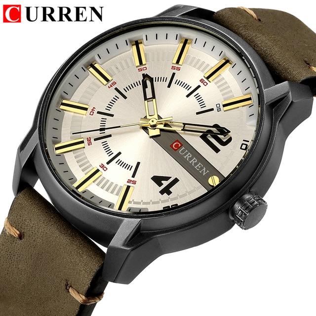 CURREN Men's Luxury Military Male Quartz Watches