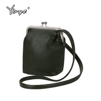 YBYT Brand 2017 New Vintage Casual PU Leather Bucket Bags Hotsale Ladies Cell Phone Evening Bag