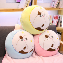 kawaii plush shadow cat toys soft sofa pillow cushion air conditioner blanket kids quilt nice Christmas gift for girls children