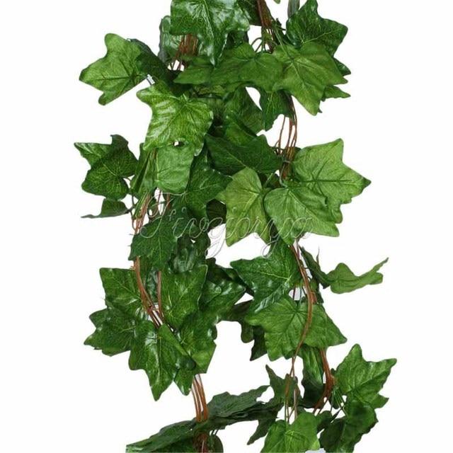 aliexpress  buy pcs big sleaf leaf artificial vine garland, Beautiful flower