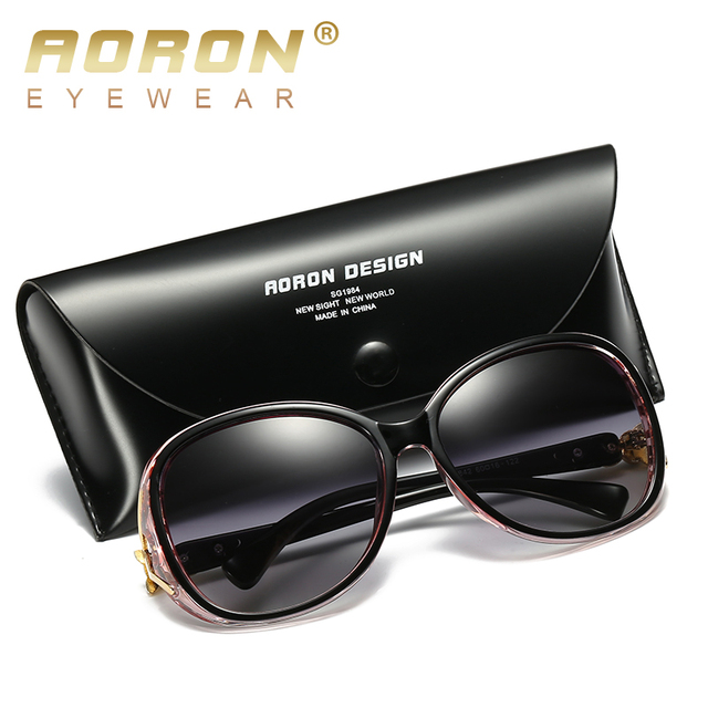 AORON Fashion Womens Polarized Sunglasses Women fox style Sung Lasses  Accessories UV400 Eyeglasses 6
