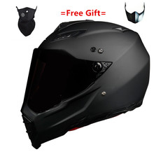 HOT SELL Gloss black Helmet Motorcycle Racing Bicycle  ATV Dirt bike Downhill MTB DH cross capacetes S M L XL XXL