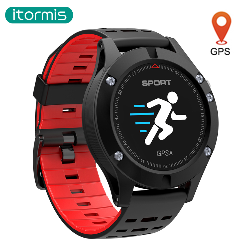 itormis GPS bluetooth smart band bracelet Fitness Tracker SmartBand Sport wristband Color screen Heart rate Altitude for Android edwo df23 smartband heart rate monitor waterproof swimming smart wristband health bracelet fitness sleep tracker for ios android
