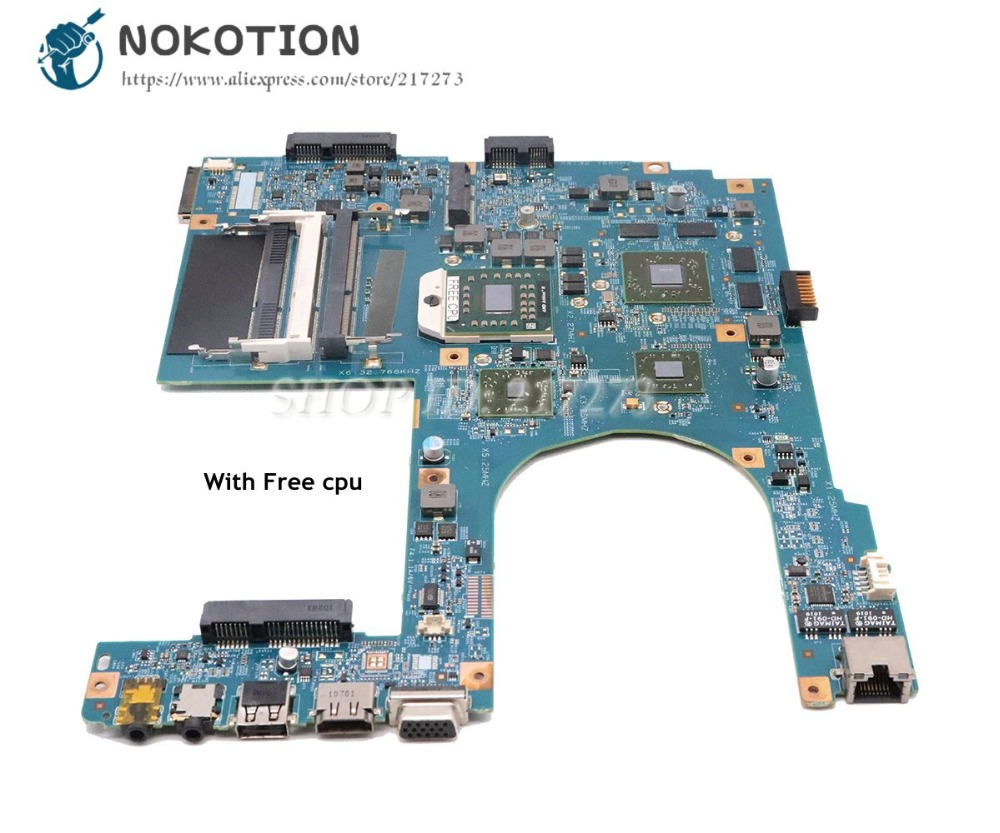NOKOTION Laptop Motherboard For Acer aspire 7552 7552G MAIN BOARD MBPZS01001 48 4JN01 01M HD5650M 1GB