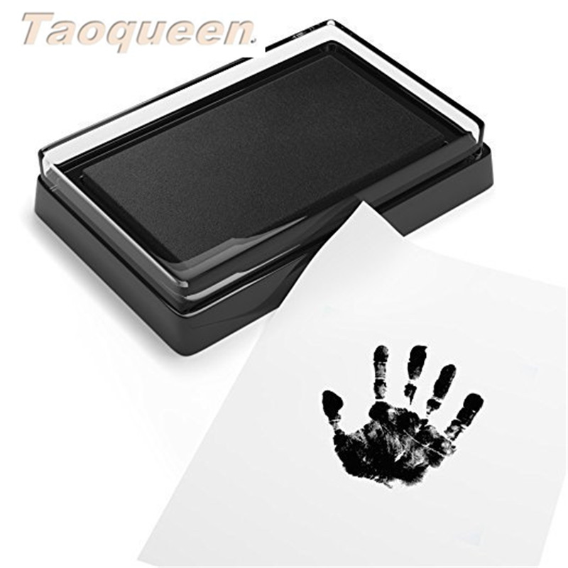Taoqueen Baby Handprint Footprint Pad Safe Easy To Clean  Non-toxic Ink Pad Newborn Photo Hand Foot Print Pad Wonderful Keepsake