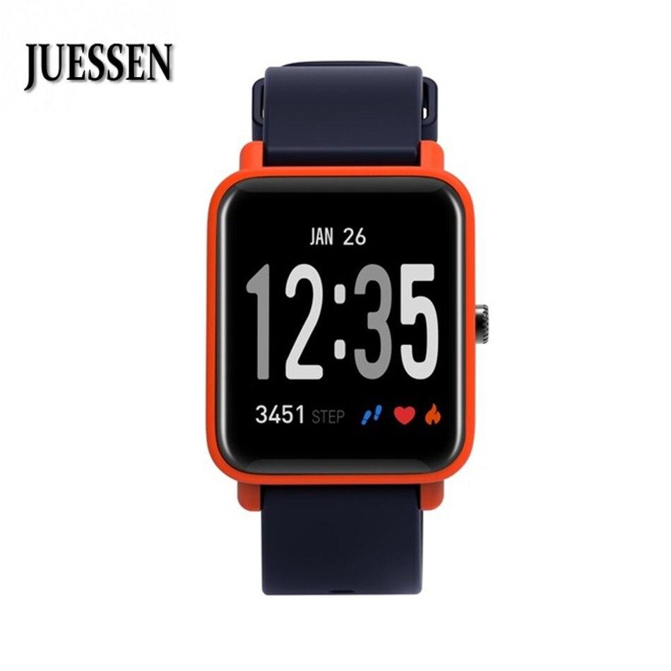 JUESSEN DO10 Smart Armband IP67 Unterstützung Stoppuhr Wecker Aktivität Tracker Armband Herz Rate Monitor Band für iphone