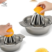 TTLIFE Home Appliances Mini Juicer Handheld Orange Lemon Juice Maker Stainless Steel Manual Squeezer Press Citrus Tools