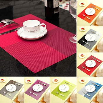 PVC Dining Table Placemat Europe Style Kitchen Tool 1