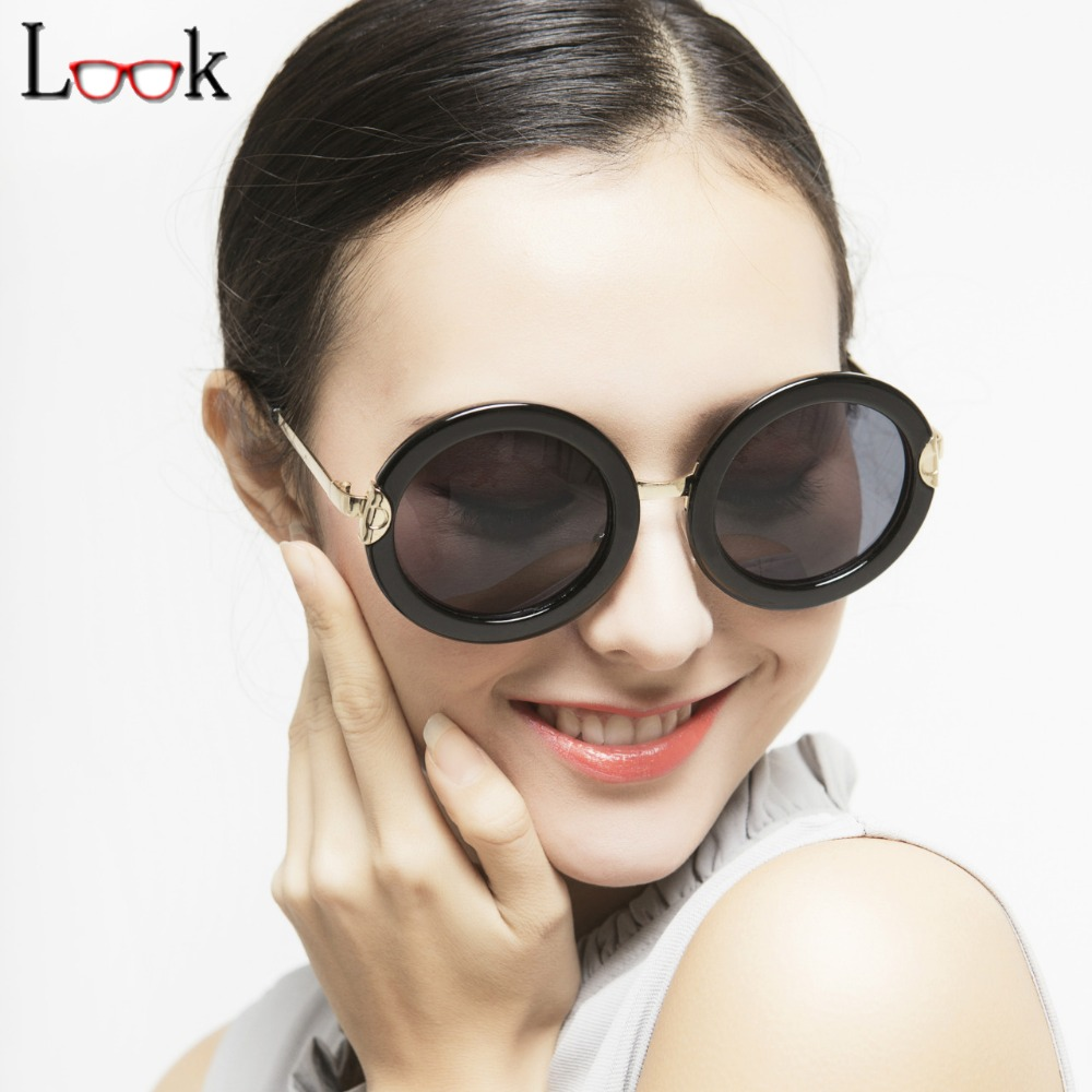 Novo 2018 Do Vintage Óculos Redondos de Grandes Dimensões Mulheres Marca  Steampunk de Óculos De Sol Ao Ar Livre óculos de Sol Óculos Oculos Gafas  Occhiali fa6ffcf82b