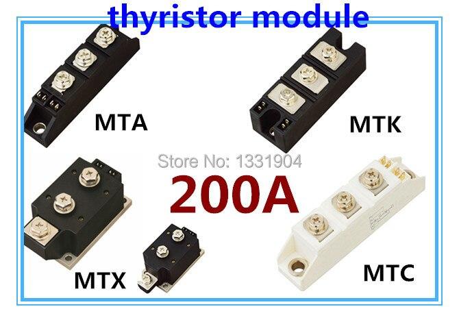 Module de Thyristor MFC MFA MFK MFX 200A module de soudage scr module de contrôle du silicium joint de soudage