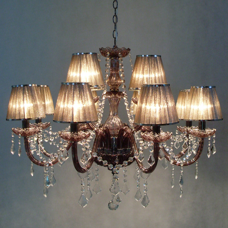 12 bulbs european candle crystal chandeliers lamp and crystal 12 bulbs european candle crystal chandeliers lamp and crystal pandents india gauze lampshade bedroom living room modern e14 in chandeliers from lights aloadofball Images