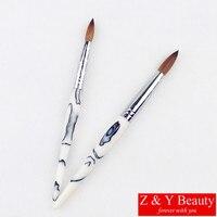 Hot Sale Factory Direct SIZE 12 Nail Brush 100 Kolinsky Acrylic Nail Brush Size 12 Free