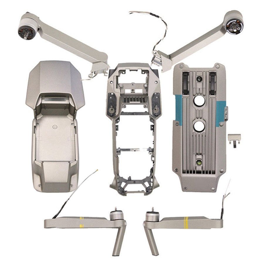 Front Back Left Right Motor Arm for DJI Mavic Pro Platinum Replacement Top Bottom Housing Shell Middle Frame Repair Parts