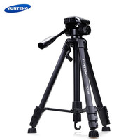 Yunteng VCT 668 668 Professional Aluminium Tripod Camera Accessories Stand with Pan Head For Canon Nikon Sony SLR Digital Camera