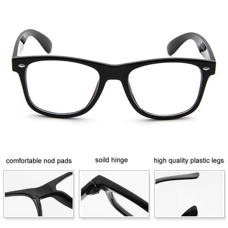 830abcc96074 ... Fashion Clear Glasses Men Fake Glasses Square Eyeglasses Optical Frames  Male Reading Eyewear Spectacle Frames Transparent