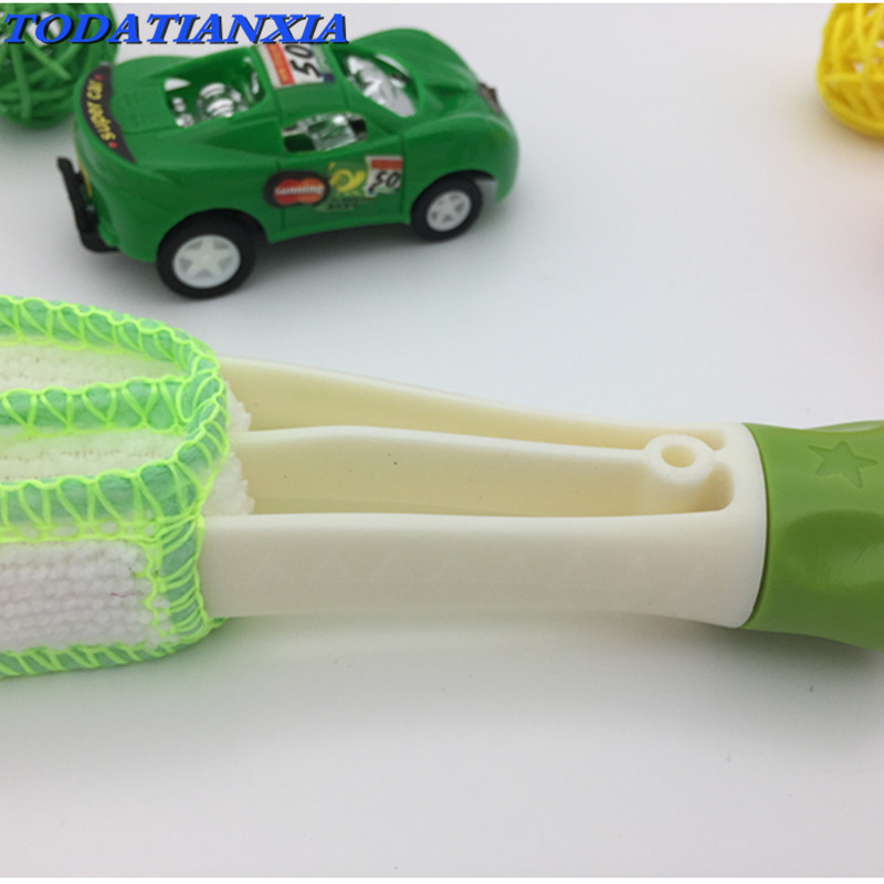 2018 New Style Car Cleaning Brush Tool For Mitsubishi Asx Lancer 10 9 Outlander Pajero I200 Cadillac Cts Srx Accessories