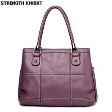 Women Messenger Bags Female Casual Tote Bag Solid PU Leather Handbag Large Shoulder Bag Famous Brand Bolsa Feminina цены онлайн