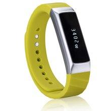 Alfartec Новая мода C1 Bluetooth Smart Браслет мониторинга сердечного ритма крови счетчик воды шаг механизм смарт-браслет