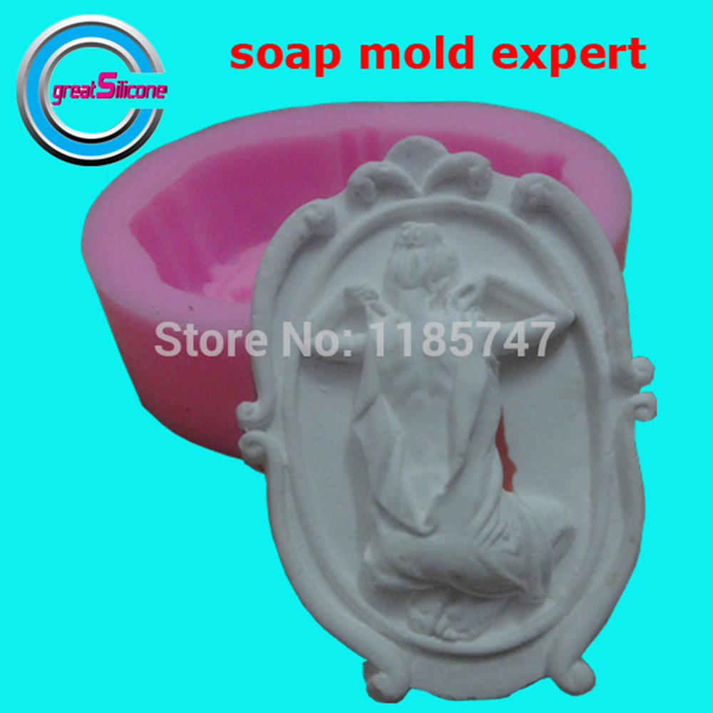 Great-Mold <font><b>Sexy</b></font> Lady Silicone Soap Mold <font><b>3D</b></font> Silicone Molds Food Grade Chocolate Cake Molds image