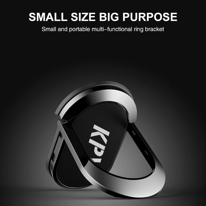 Палец кольцо держатель телефона Spinner стенд ручка металлическая 360 градусов Поддержка универсальный для iphone 8 Samsung S8 Xiaomi Redmi 4x