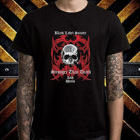 Black Label Society BLS Stronger Than Death Men S Black T Shirt Size S To 3XL