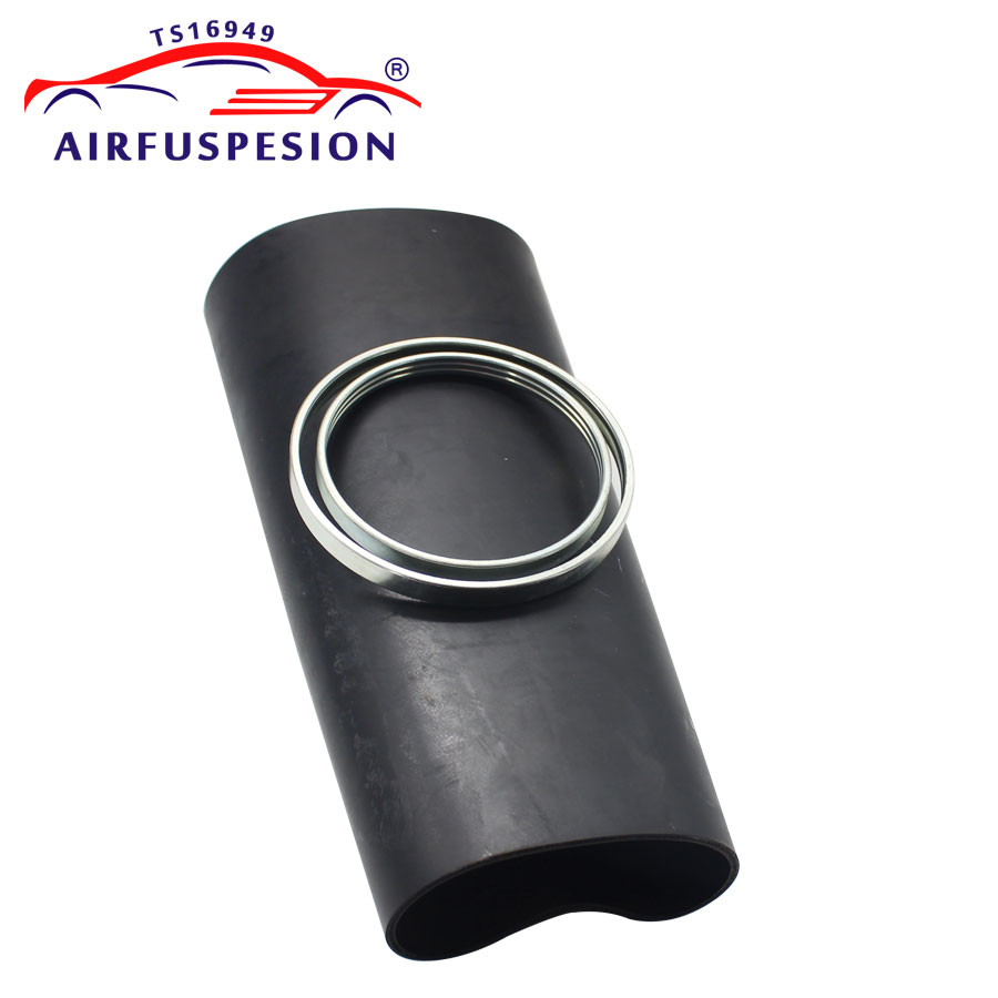 For Audi A6 C6 4F Rear Pillow Rubber Sleeve with rings Air Bellow Sleeve Air Suspension