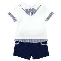 Luvena Fortuna 2pcs Baby Children Kids 2 Piece T Shirt Pants Set H9586 Sold By JD