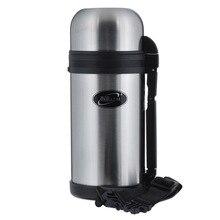 Термос BIOSTAL NG-1200-1  (Объем 1.2 литра, нержавеющая сталь, время сохранения тепла 19 часов, складная ручка)
