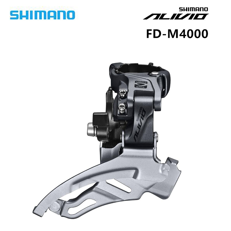 SHIMANO Alivio FD M4000 3S Speed 42Tb MTB Derailleur Front MTB Mountain Bike Derailleur Parts for 3x9S 27S Speed bicycle pedal