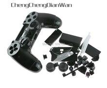1Set JDS 001 JDM 011 Kleurrijke Shell Case Met Button Kits Voor PS4 Playstation 4 V1 Controller Behuizing Shell Case Cover