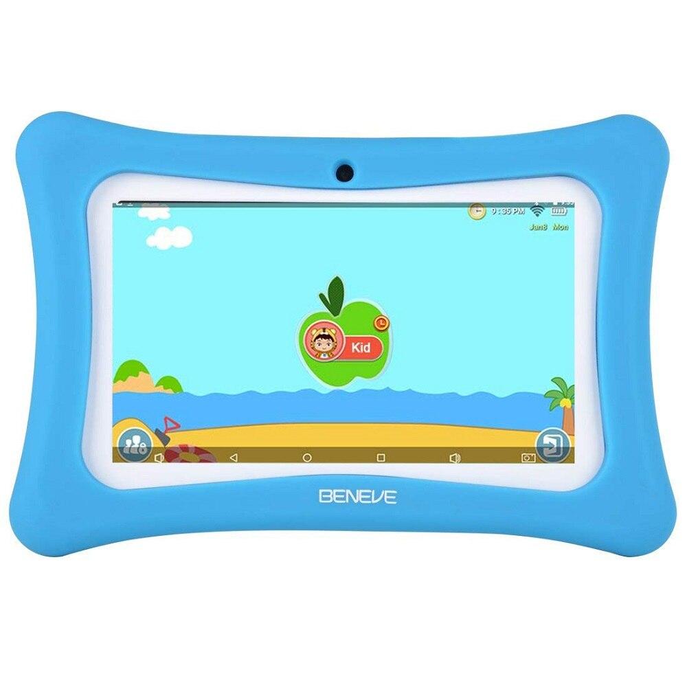 Russie espagne entrepôt navire enfants tablette 7 pouces tablette PC android 7.1 1GB RAM 8GB ROM WiFi Bluetooth enfants logiciel pré-installé