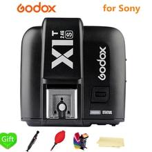 Беспроводной трансмиттер Godox X1TS X1S, беспроводной триггер для Sony a77II a7RII a7R a58 a99 с камерой, 2,4 ГГц, с поддержкой TTL