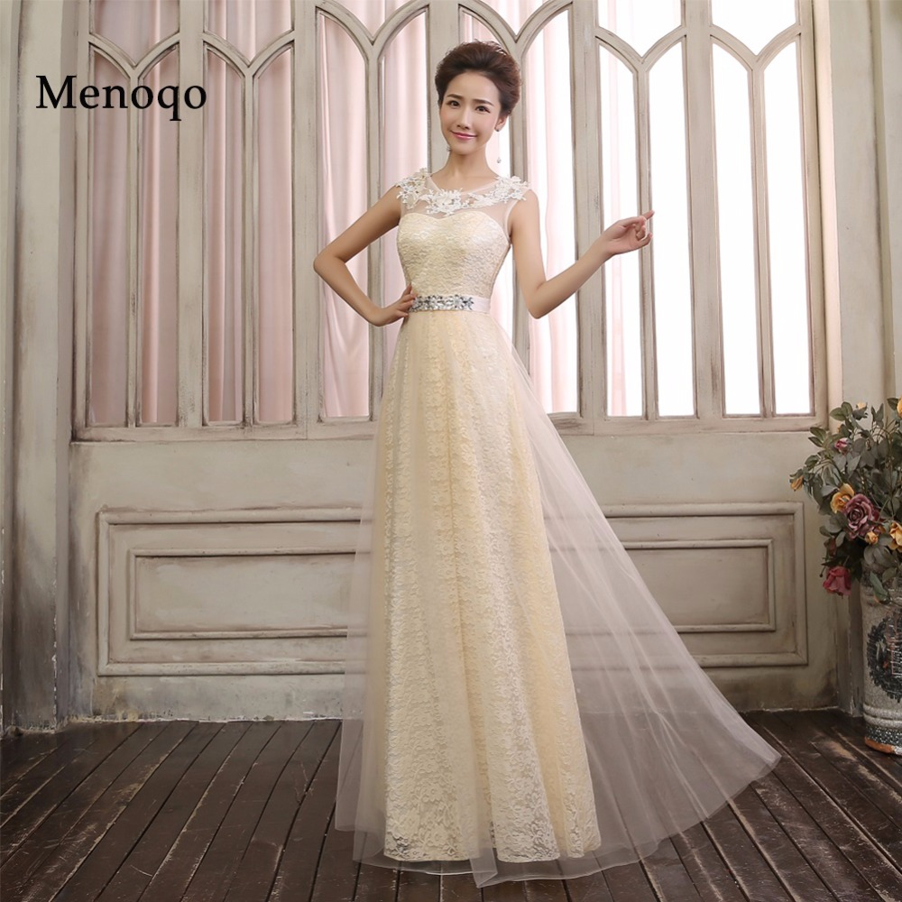 daae329cbe Real Photo Elegant A line Floor length Long Evening Dress Applique Tulle  High quality Special Occasion